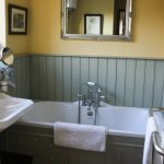 The holiday cottage downstairs bathroom